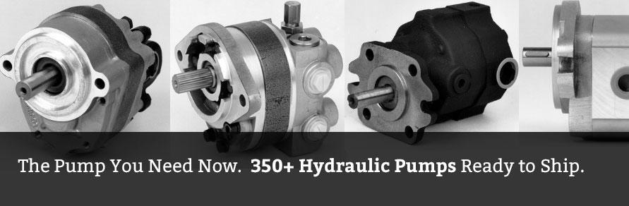 Replacement Hydraulic Pumps - Webster, Haldex, Danfoss - Hydraulic net